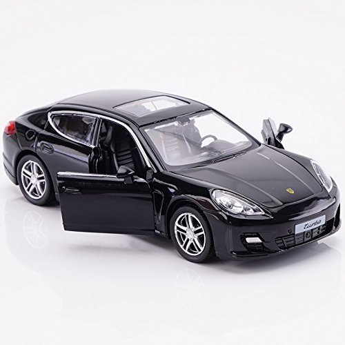 Amazon.com: Blemay 1:36 Scale Porsche Panamera Car Model Diecast Toy Vehicles (black): Toys & Games
