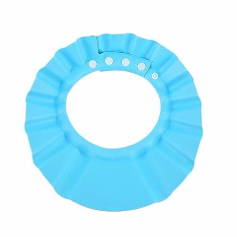 Gorro para Ducha Baño Suave para Niños para Lavarse el Cabello sin  Irritarse los Ojos 8fc3b252c95