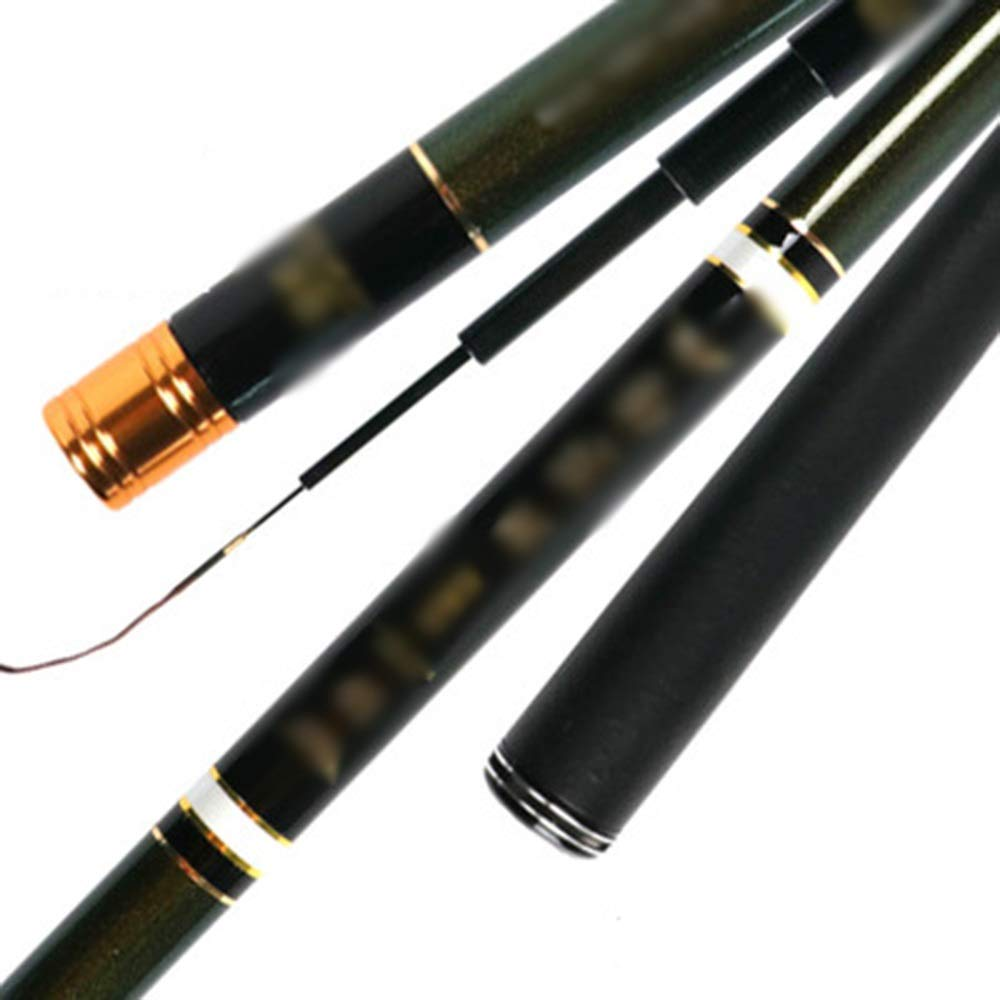 7.2m Fishing Rod  ishing rods, Integrated Fish, Super Hard, UltraLight Fishing, HandCarrying Gear, Fishing Gear, Carbon Superfine Fishing Rod  Fishing Rod HARDYYI 6487 (Size   7.2m)