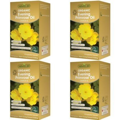 (4 PACK) - N/Aid Organic Evening Primrose Oil | 90s | 4 PACK - SUPER SAVER - SAVE MONEY