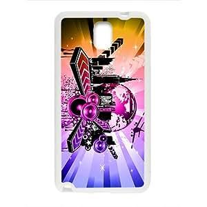 Shining City Graffiti Custom Protective Hard Phone Cae For Samsung Galaxy Note3