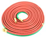 oxy cutting hoses - Forney 86164 Oxygen Acetylene Hose, T-Grade, 1/4-Inch-by-25-Feet