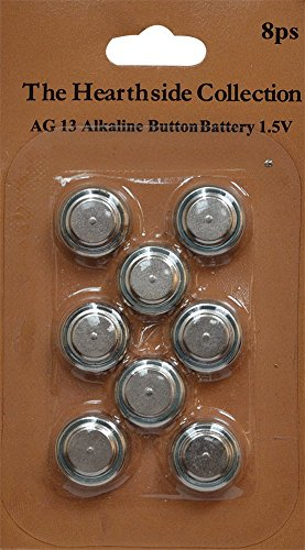 CWI Gifts 1.5V AG13 Replacement Batteries for Tea Lights