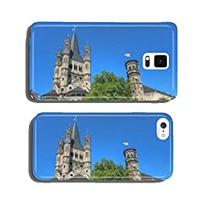 Great Saint Martin Church in Cologne fish market cell phone cover case Samsung S6