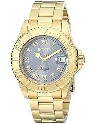 Invicta Womens 14366 Angel Analog Display Swiss Quartz Gold-Plated Watch