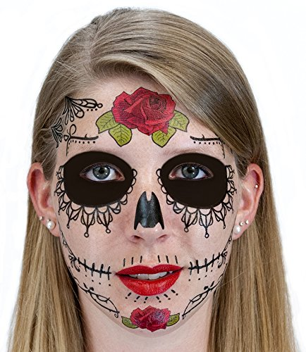 Black (Traditional Sugar Skull Costume)