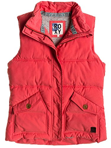 Roxy INDIANA–Chaqueta sin mangas para mujer, Rouge - Rose, L Rouge - Rose