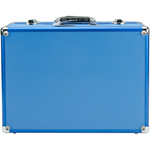 Copic Aluminum Case With Shoulder Strap-Blue](Copic Marker Carrying Case)