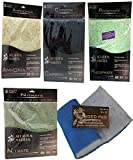 Ruby Basin Combo Filter Pad Pack, Includes Activated Carbon Remover Pad, Nitrate Remover, Phosphate Remover, Ammonia, Dual Density Blue Bonded - for Fresh Water & Saltwater Aquariums & Hydroponics!