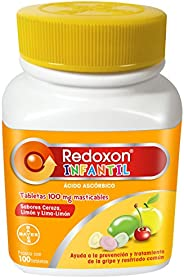 Redoxon Infantil, Multisabor, 100 Piezas