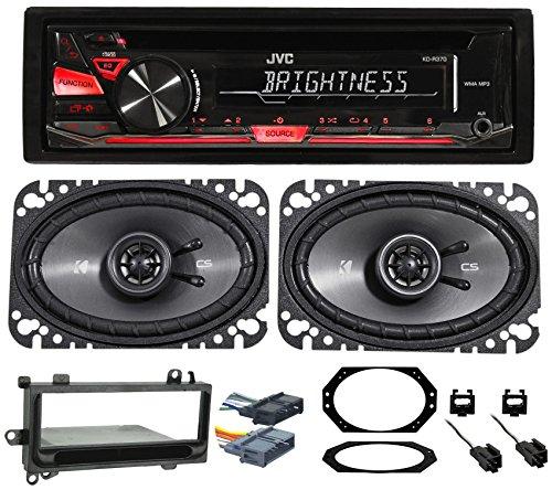 JEEP WRANGLER 97-02 JVC Stereo/CD Player/Radio+Kicker Speakers+Full Install