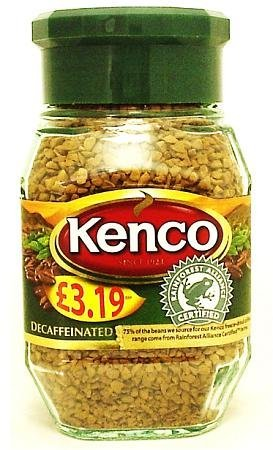 - Kenco Decaff Coffee Blend 100g