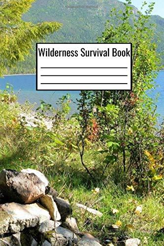 Wilderness Survival Book  Outdoor Survival Notebook Checklist For Food Inventory Travel Shelter   Wilderness Survival Journal