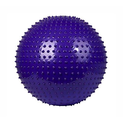 Balle de yoga, Ballon de massage spécial Épaissir Ballon de gymnastique anti-déflagrant Granule Empreinte tactile Dragon Ball ( Couleur : #3 , taille : De 55 cm )