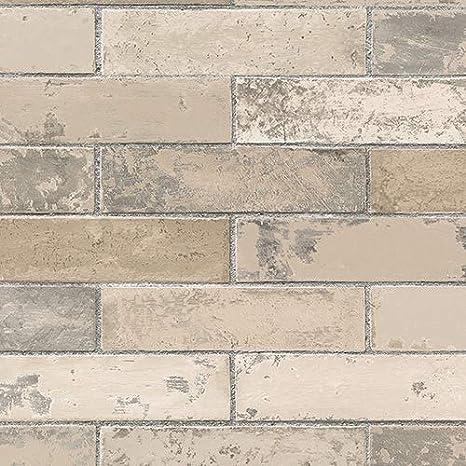 Norwall Kv27423 Swiss Brick Wallpaper