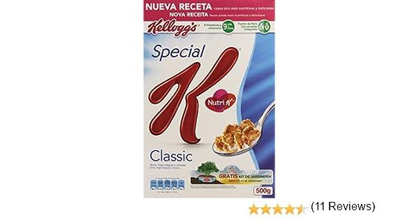 Special K Classic Cereales de Desayuno - 500 g: Amazon.es ...