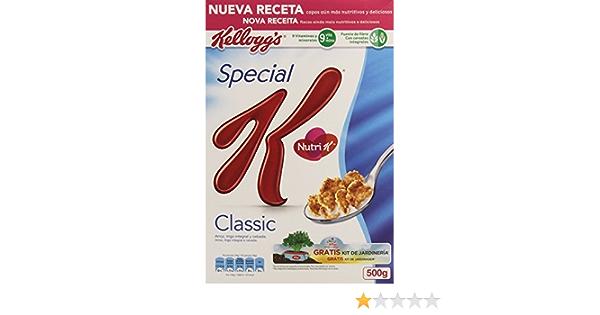 Special K - Classic 500 g - [pack de 4]: Amazon.es: Alimentación y bebidas