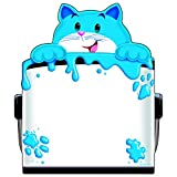 TREND ENTERPRISES INC. CURIOUS COLOR CAT NOTE PAD SHAPED (Set of 24)