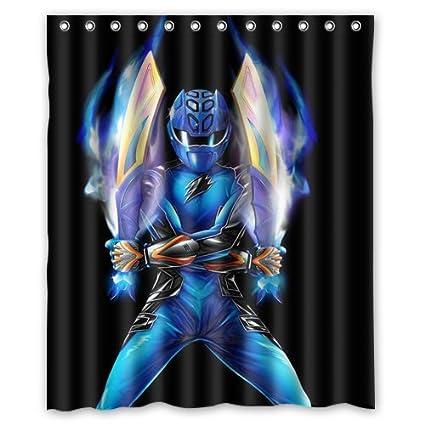 Power Rangers Custom Shower Curtain 60quot X 72quot