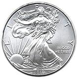 2010 American Silver Eagle Dollar - 1 oz. .999 Pure Silver - Choice Brilliant Uncirculated