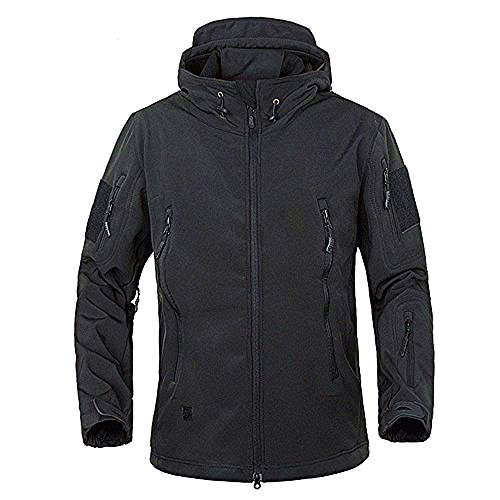 TACVASEN Men's Military Softshell Tactical Jacket