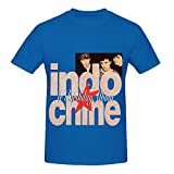 Indochine Le Birthday Album 1981 1991 Soul Mens Screen Printed Tee Shirts Blue