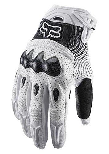 Fox Men's Bomber Glove, White/Black, Medium(9)