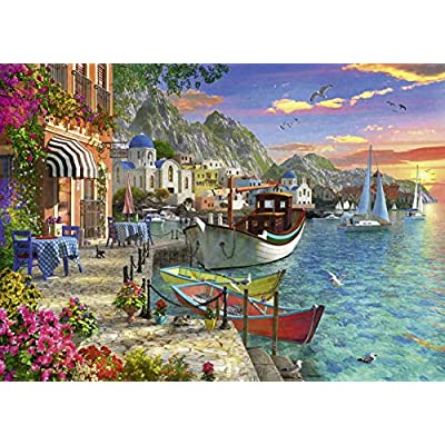 Ravensburger Grandiose Greece 15271 1000 Piece Puzzle for Adults, Every Piece is Unique, Softclick Technology Means Pieces Fit Together Perfectly: Toys & Games