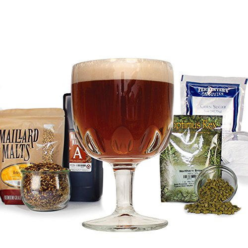 Belgian Trappist Dubbel With Specialty Grains HomeBrewing Beer Brewing Recipe Kits - Malt Extract, Amber Ale 5 Gallons Ingredients Belgian Trappist Beers