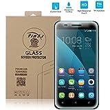tinxi® Protezione invisibile pellicola in vetro temperato per Huawei Honor 4X superba protezione pellicola protettiva ultra-duro 0,3mm chiaro