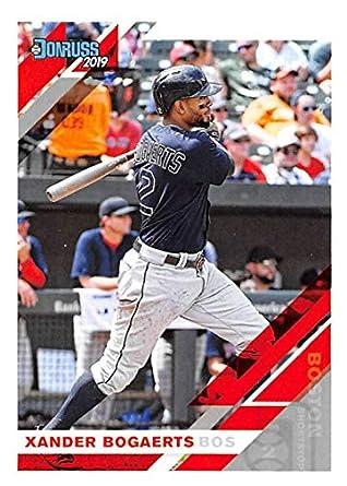 2018 Donruss #67 Xander Bogaerts Boston Red Sox Baseball Card