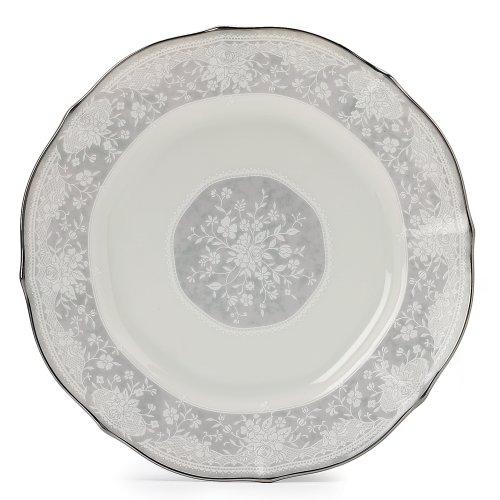 - Noritake Chandon Platinum Accent Plate, 9-inches