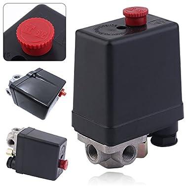 3-phase Heavy Duty Air Compressor Pressure Switch Control Valve 380/400V Air Compressor Switch Control: Amazon.com