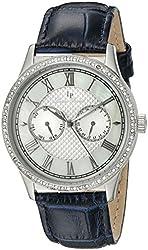 Lucien Piccard Women's LP-10334-02-BL Brela Stainless Steel Watch