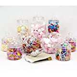 9 Jumbo Jar Party Pack with Scoop and Bags by jars2u