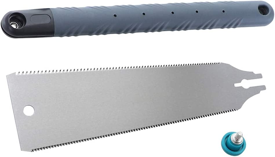 Scie /à main DALIN SK5 Scie japonaise 3 lames 65 HRC Coupe-bois pour bois de tenon et bambou