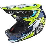 Troy Lee Designs D3 Composite Helmet Cadence Black/Yellow, L