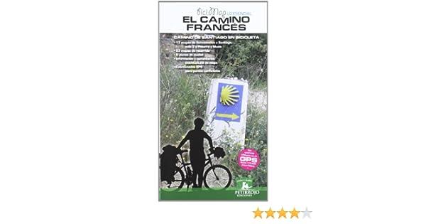 El camino francés: Camino de Santiago en bicicleta Bicimap ...