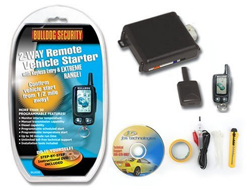What are some remote starters offer by Bulldog?