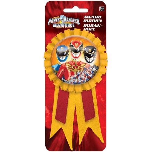 Power Rangers Megaforce Confetti Pouch Award Ribbon