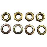 4 Brass Nuts for Manifold Mounting Kit Ford New Holland 2N 8N 9N Tractor 33816S