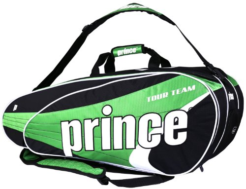 Prince Tour Team Green 12-Pack Tennis Bag (2014-15) by Prince (Image #6)