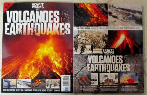 HOW IT WORKS MAGAZINE #1 2015, BOOK OF VOLCANOES & EARTHQUAKES.