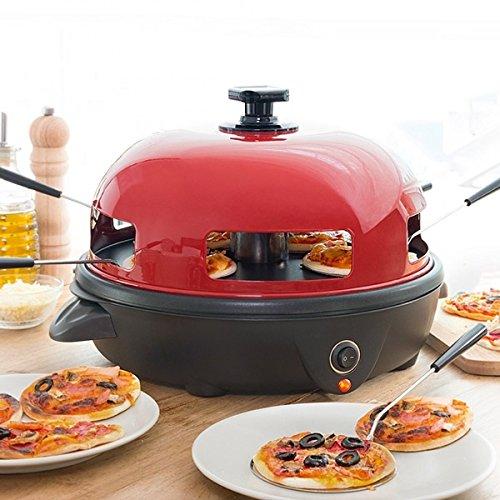 Forno per pizza elettrico da tavolo Minipizza 5persone Pizza Party TELESHOPPINGCENTER®