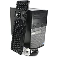Refurbished - Dell Optiplex 7010 Tower High Performance Business Desktop - Intel Quad Core i5-3570 3.4GHz, 8GB DDR3 Ram, 1TB Hard Drive, DVD+/-RW, Windows 7 Professional, WiFi Ready