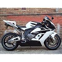 Black & White Fairing Injection for 2004-2005 Honda CBR 1000 RR 1000RR