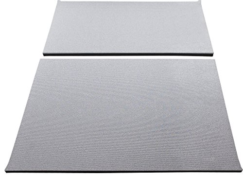 Design Engineering DEI 050144 Boom Mat Sound Deadening Headliner for Jeep Wrangler with Factory Sound Bar (1997-2002) and (Jeep Wrangler Carpet Grey 1999)