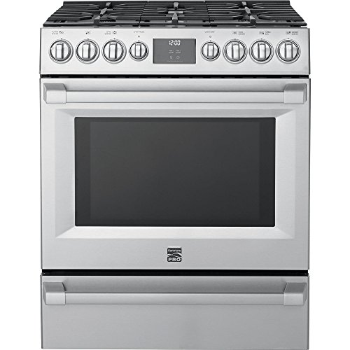 Kenmore PRO 5.1 cu. ft. Self Clean Gas Range in Stainless Steel, includes delivery and hookup -02272583