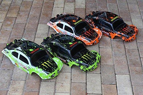 Set of 4 Muddy Monster Bug Bodies for Slash 1/10 Truck Car Shell 1:10