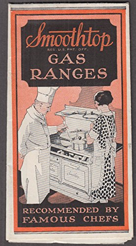 (Smoothtop Gas Ranges sales folder 1936 )